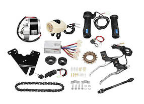 Електричний набір для велосипеда 24В 250Вт