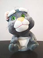 Кот Том повторюшка мягкая игрушка Original Grey серый