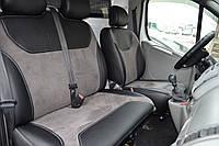 Чехлы для сидений авто Citroen Jumpy из Эко-кожи