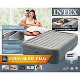 Надувная кровать Intex 64126, 152 х 203 х 46, со встроенным электрическим насосом. Двухспальная, фото 3