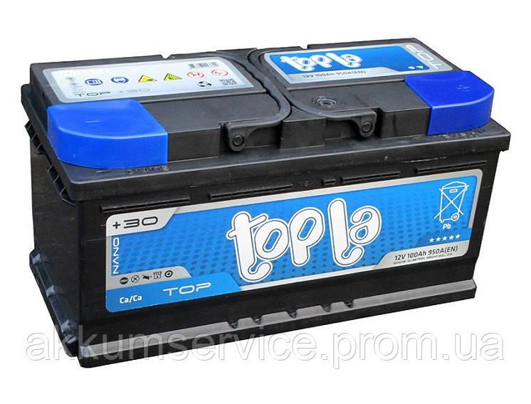 Аккумулятор автомобильный ToplaTop Sealed 92AH R+ 900A