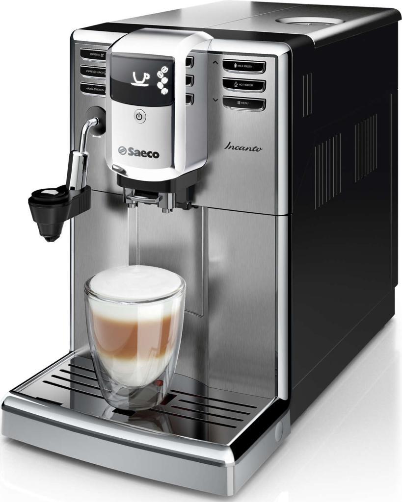 Автоматическая кофемашина Saeco Incanto  HD8914/09 Steel Black
