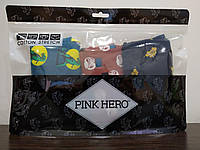 Комплект (3 шт) мужского нижнего белья Pink Hero Размер XXL