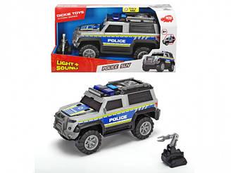 Машинка Dickie Toys Полиция  с аксессуарами, свет, звук 3306003, длина 30см