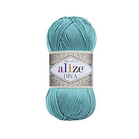 Alize Diva, №376, светло-бирюзовый
