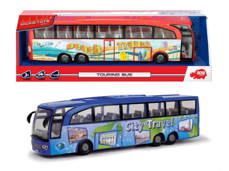 Туристический автобус Dickie Toys Городская экскурсия в асс. (3745005)
