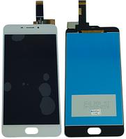Дисплей для Meizu M6, M711H с сенсорным экраном, белый