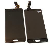 Дисплей (LCD) для Meizu M3s (Y685) з сенсорним екраном, чорний