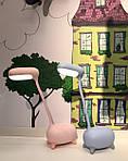 Детская настольная LED лампа NOUS S4 Pink 4W 2700-6500K с аккумулятором, фото 10
