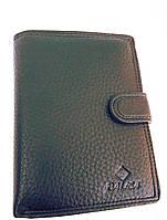 Мужское портмоне с искусственной кожи W55-302 черный портмоне Балиса оптом недорого Одесса 7 км