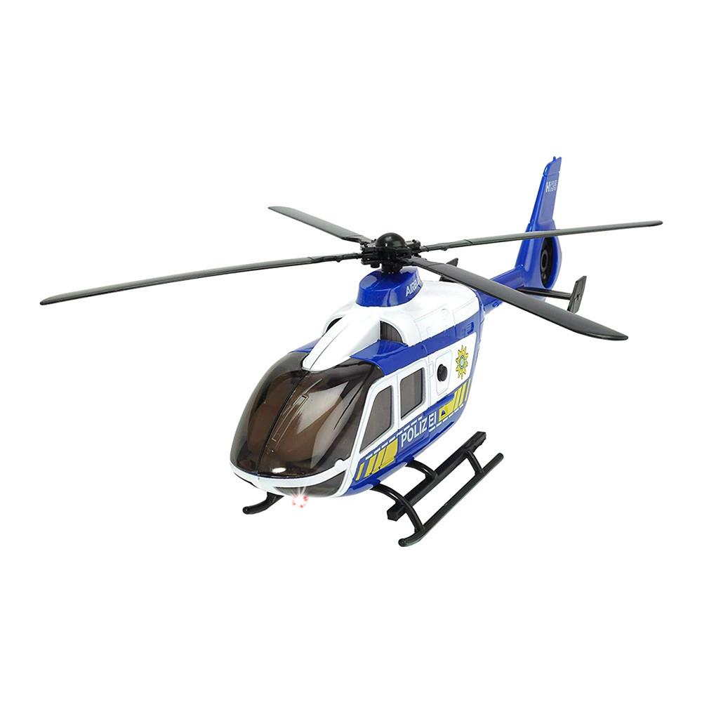 Игрушечный вертолет Dickie toys Sos Воздушный патруль со светом и звуком (3716019)