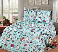 Комплект детского постельного белья подростковый Мечта(Единорожки)