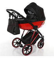 Универсальная детская коляска Junama Diamond V-Plus 04 Red (Юнама Даймонд В-Плюс), фото 1