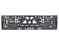 Рамка под номерной знак Lada Carlife NH41