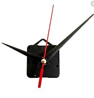 Часовой механизм с петлей для крепления, 55х55х16,  шток 12 мм