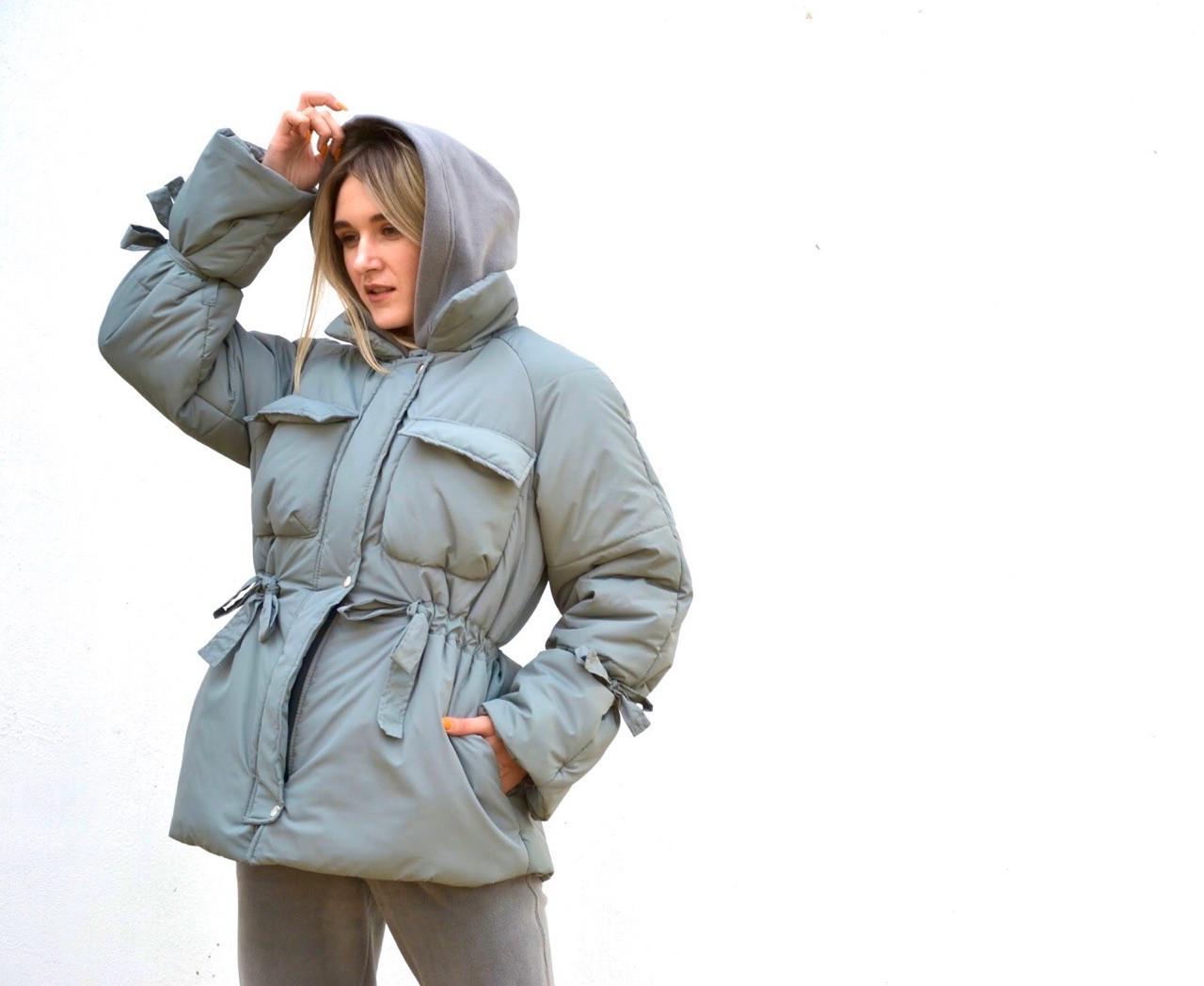 Куртка женская зимняя короткая  42;44;46