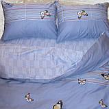 Евро. Комплект постельного белья с компаньоном S334, фото 3
