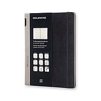Блокнот Moleskine PRO Большой (19x25 см) 192 страницы Черный (8051272891355)