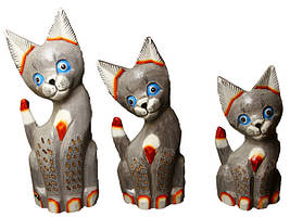 Набор упитанных котов ( к-887, к-888, к-889)