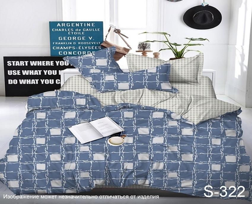 Евро. Комплект постельного белья с компаньоном S322