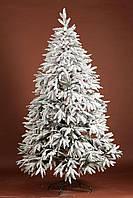 Ель литая смерека заснеженная 210 см, искусственная елка, фото 1