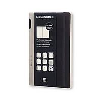 Блокнот Moleskine PRO Средний (13x21 см) 192 страницы в Линию Черный Мягкая обложка (8051272891348), фото 1