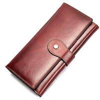Кошелек женский Vintage 14916 Бордовый, Красный