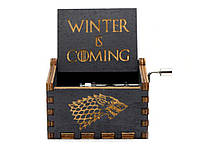 Музыкальная шкатулка в стиле ретро Game of Thrones №09