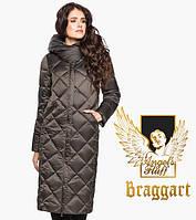 Воздуховик Braggart Angel's Fluff 31031 | Куртка женская на зиму капучино, фото 1