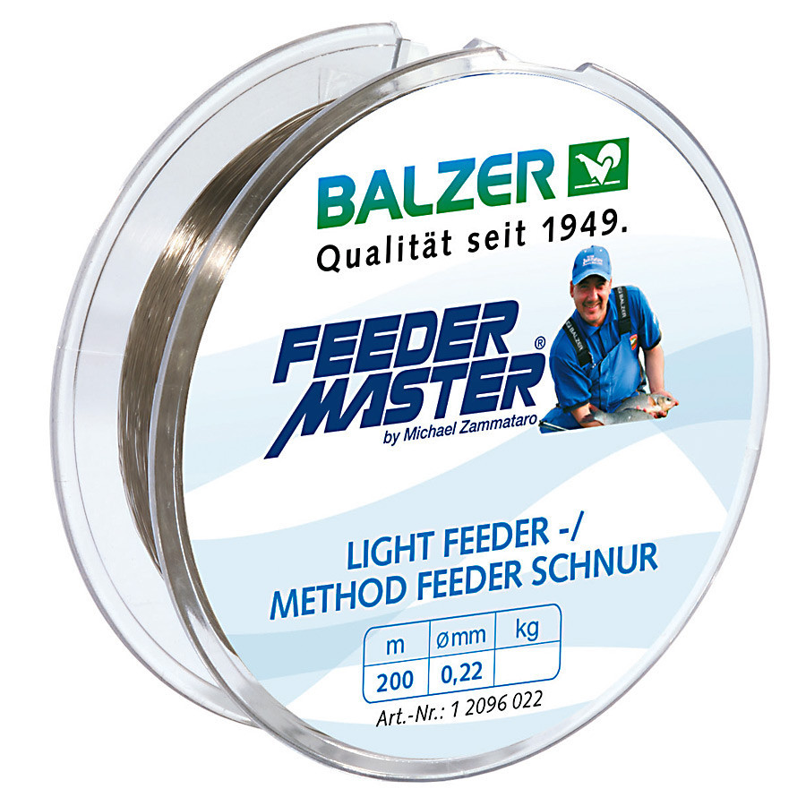 Леска Balzer Feedermaster Light Feeder/Method Feeder Line 0.25мм 200м  7,2кг