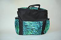 Сумка-рюкзак для коляски Mimirada-baby. Органайзер для коляски. Принт тропики