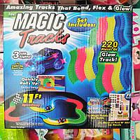 Детский светящийся гибкий трек Magic Tracks 220 деталей
