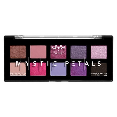 Палетка теней NYX Professional Makeup Mystic Petals Shadow Palette Midnight Orchid