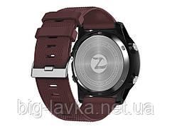 Часы для спортсмена Zeblaze LED подсветкой  Красный