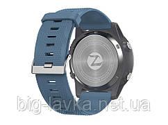 Часы для спортсмена Zeblaze LED подсветкой  Синий