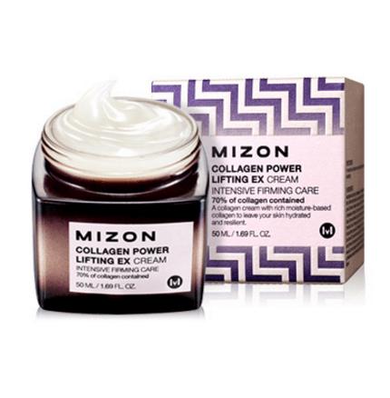 Коллагеновый лифтинг-крем MIZON Collagen Power Lifting EX Cream, 50 мл Корея