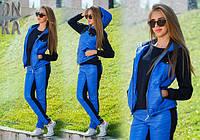 Женский теплый спорт костюм тройка