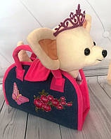 Собачка Chi Chi Love с сумочкой (00112-12) Розовый