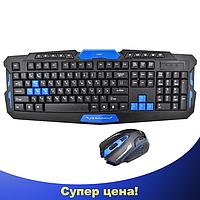 Беспроводная игровая клавиатура с мышью HK-8100