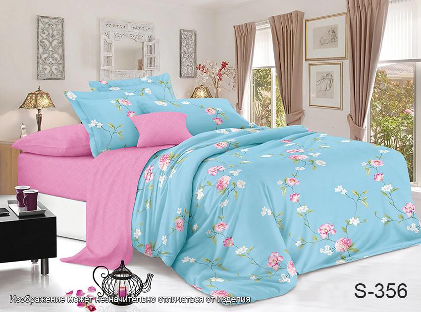 Семейный. Комплект постельного белья с компаньоном S356
