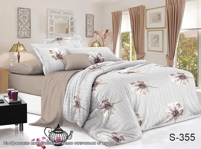 Семейный. Комплект постельного белья с компаньоном S355