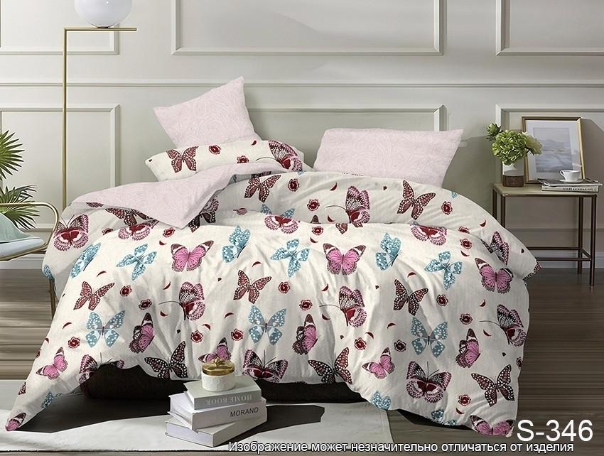 Семейный. Комплект постельного белья с компаньоном S346