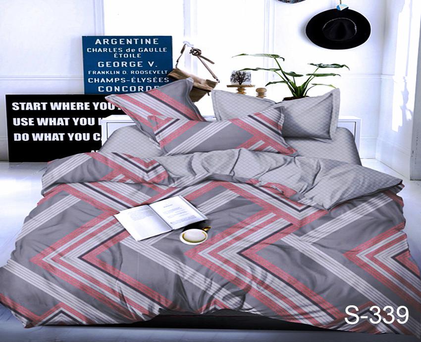 Семейный. Комплект постельного белья с компаньоном S339