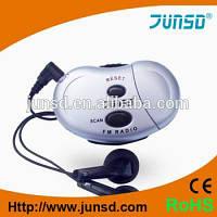 Шагомер с радио JUNSD JS-208D