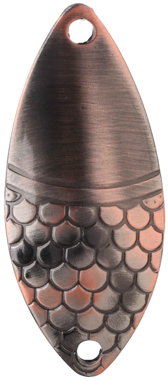 Блесна-колебалка Mikado Alga № 2  20гр 6.1см old copper