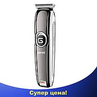 Беспроводная машинка для стрижки волос и бороды с Gemei GM-6050