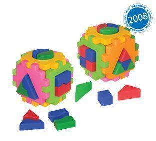 """Іграшка куб """"Розумний малюк Логіка-комбі ТехноК"""""""