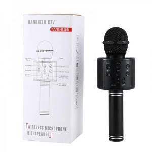 Караоке микрофон Wster WS 858 Черный