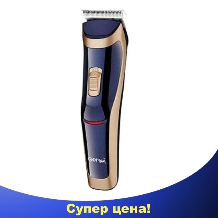 Беспроводная машинка для стрижки волос Gemei GM-6005, фото 1