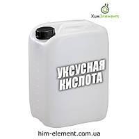 Уксусная кислота ледяная 99,8% Канистра 10 кг (Минимальный заказ 3 канистры)